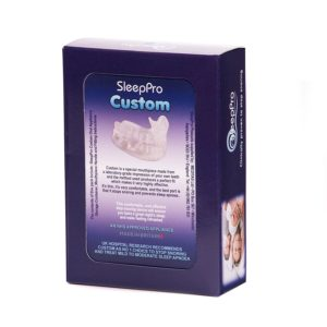 sleepPro custom bite antirussamento personalizzabile custom