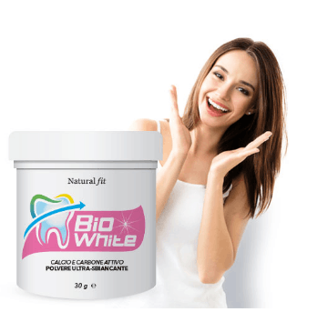 bio white sbiancante denti natural fit